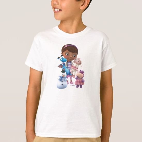 Doc McStuffins and Her Animal Friends T-Shirt