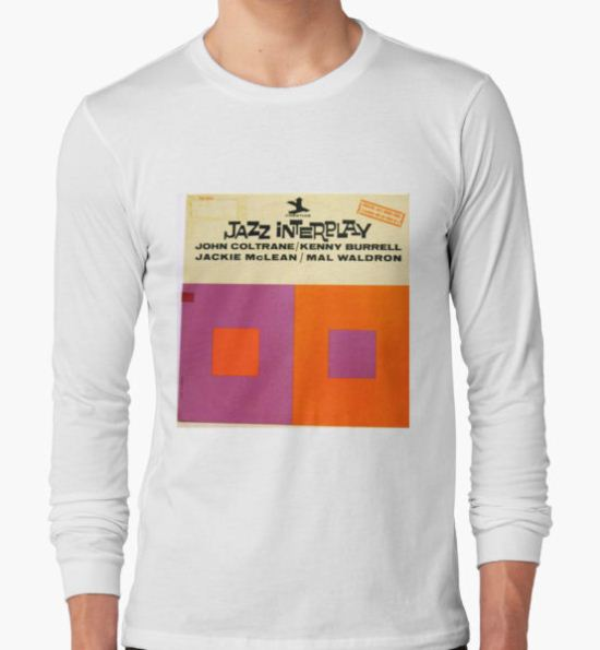 Jazz Interplay lp Record Cover T-Shirt by Vintaged T-Shirt