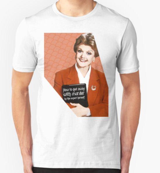 Murder, She Wrote Fan Art T-Shirt by magzmt T-Shirt