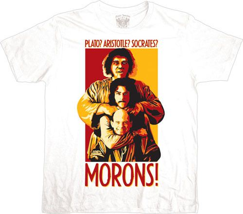 The Princess Bride Morons White T-shirt
