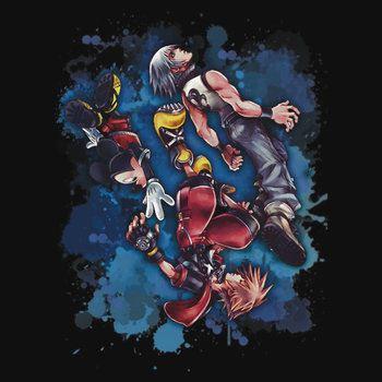 Riku Sora Mickey - Kingdom Hearts