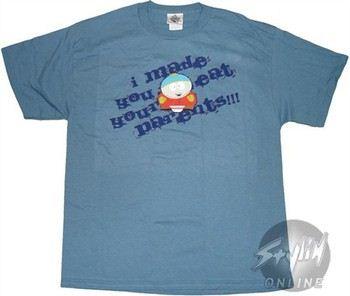 South Park Cartman I Made You Eat your Parents T-Shirt