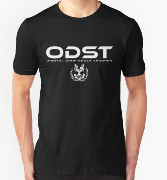 Halo ODST Orbital Drop Shock Trooper T-Shirt by Firlifer T-Shirt
