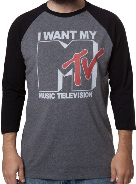 I Want My MTV Raglan