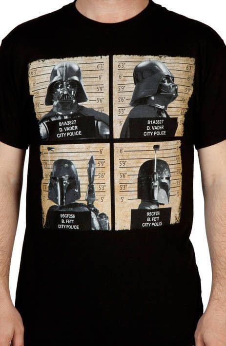 Mug Shots Star Wars Shirt