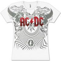 AC/DC Womens Black Ice Tour T-Shirt