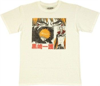 Bleach Ichigo Graphic Boxes T-Shirt