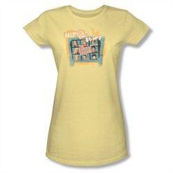 The Brady Bunch Shirt Story Juniors Shirt Tee T-Shirt