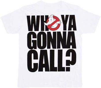 Ghostbusters Who Ya Gonna Call T-shirt