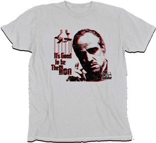 The Godfather It's Good To Be The Don T-shirt