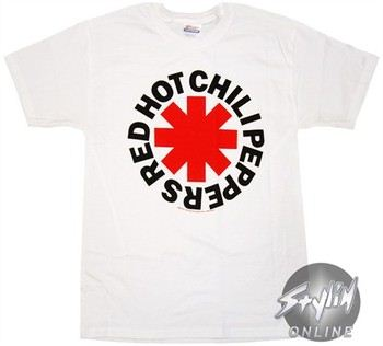 Red Hot Chili Peppers Logo T-Shirt