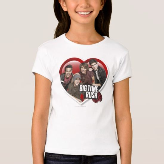 BTR Boys in Heart with Logo T-Shirt