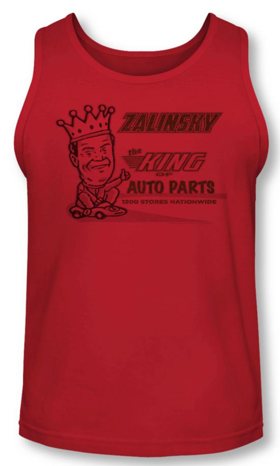 Tommy Boy Tank Top Zalinsky Auto Red Tanktop