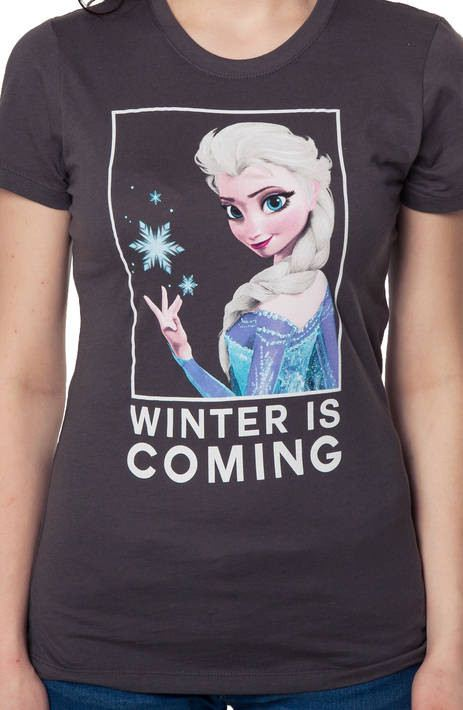 Winter Is Coming Elsa Shirt