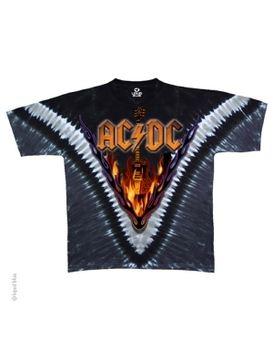 Classic Rock Music AC//DC Hells Bells World Tour Charcoal Juniors T-Shirt Tee