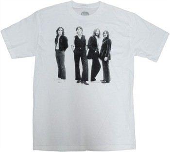 Beatles Group Shot T-Shirt Sheer