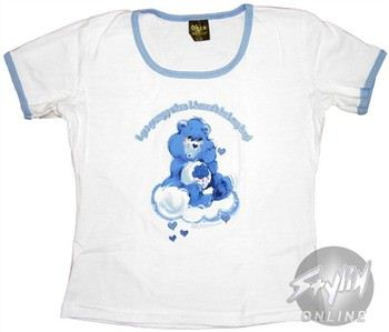 Care Bears I Get Grumpy When I Haven't Had My Hug Baby Doll Tee