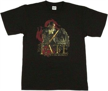 Clash of the Titans Perseus Your Fate is Determined T-Shirt