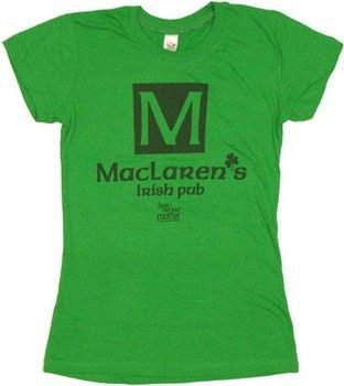 How I Met Your Mother MacLaren's Irish Pub Baby Doll Tee