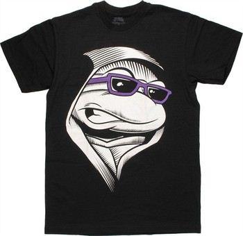 Teenage Mutant Ninja Turtles Donatello Hood Purple Shades T-Shirt