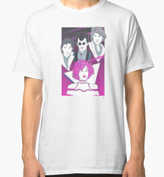 'Pretty In Pink (Pink Variant)' Classic T-Shirt by Michael Donnellan T-Shirt