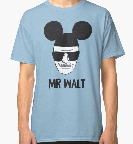 Mr. Walt Classic T-Shirt by sebisghosts T-Shirt