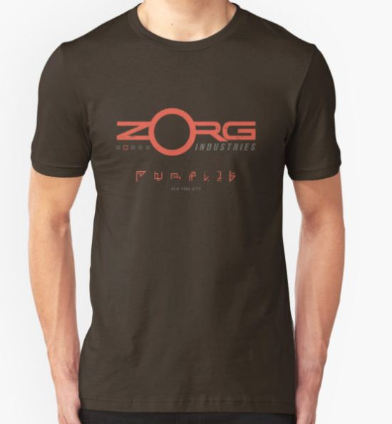 Zorg Industries (aged look) T-Shirt by KRDesign T-Shirt