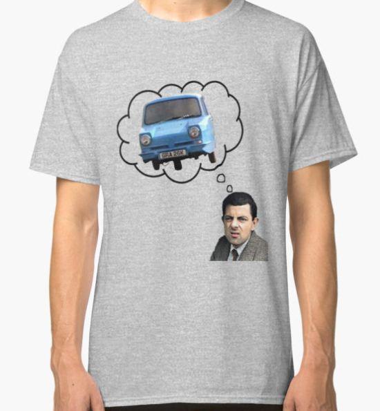 Mr. Bean's Worse Nightmare Classic T-Shirt by Mcflytrek T-Shirt