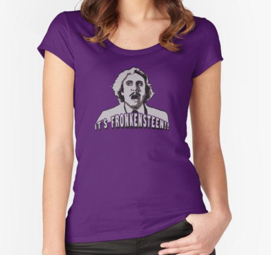 It's Fronkensteen Women's Fitted Scoop T-Shirt by celeng T-Shirt