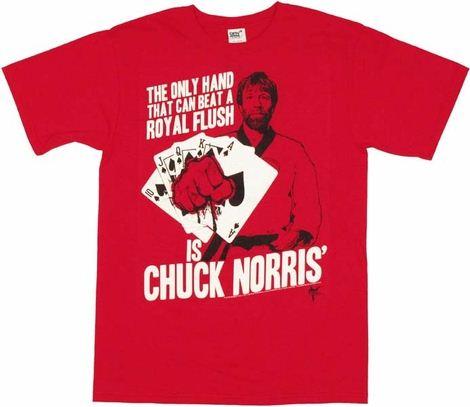 Chuck Norris Hand T Shirt