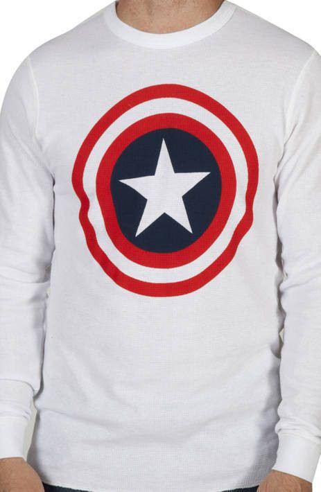 Captain America Thermal Shirt