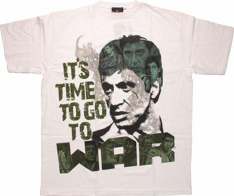 Scarface Time War T-Shirt