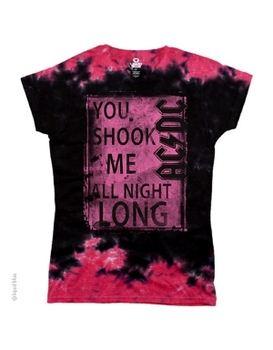 AC/DC Shook Me Women's Long Length T-Shirt