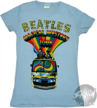 The Beatles Magical Mystery Tour Baby Doll Tee