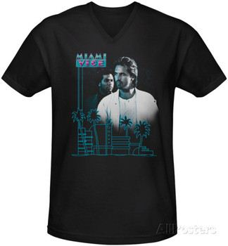 Miami Vice - Looking Out V-Neck