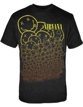 Nirvana Many Smiles Men's T-Shirt