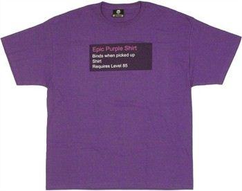 World of Warcraft Epic Purple T-Shirt