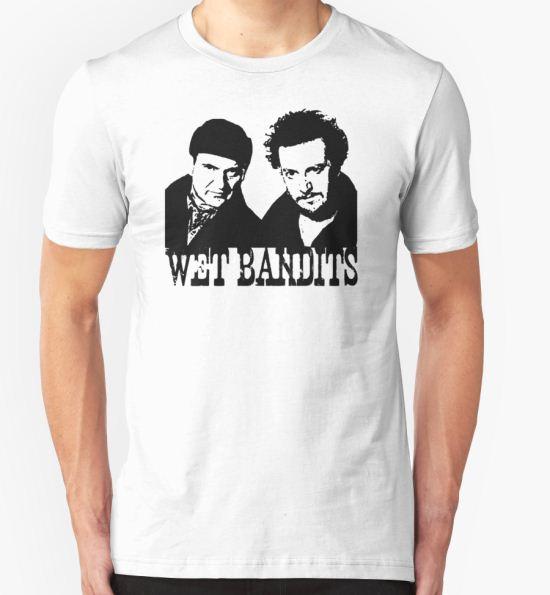 'Home Alone Wet Bandits' T-Shirt by MimiDezines T-Shirt