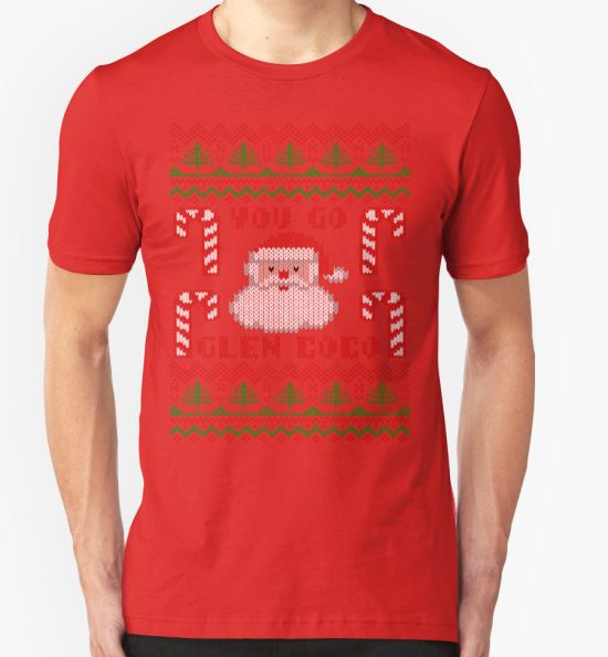 'You Go Glen Coco Funny Ugly Christmas Sweater' T-Shirt by xdurango T-Shirt