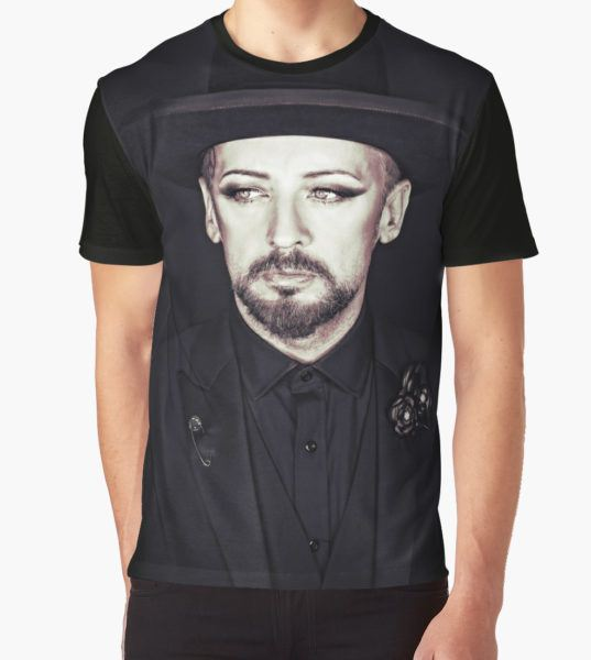 Boy George Graphic T-Shirt by Dean Stockings T-Shirt