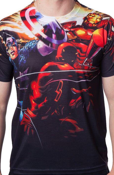 Marvel Heroes Sublimation Shirt