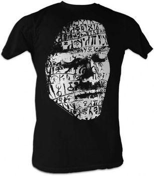 Conan the Barbarian Face Drawings Black Adult T-shirt