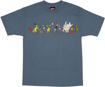 Dr. Seuss Parade of Characters T-Shirt