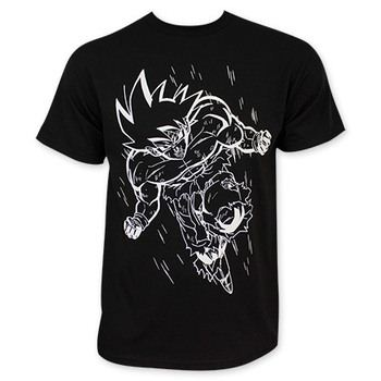 Dragonball Z Goku Outline Tee Shirt