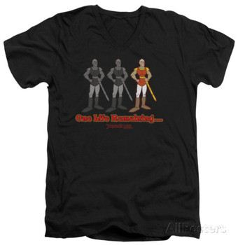 Dragon's Lair - One Life Remaining V-Neck