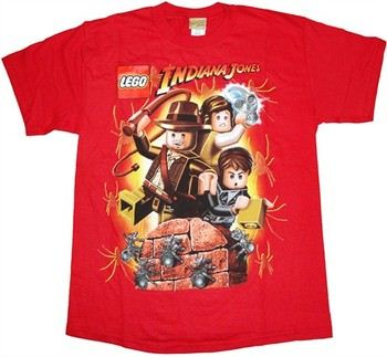 Lego Indiana Jones Spider Attack Youth T-Shirt