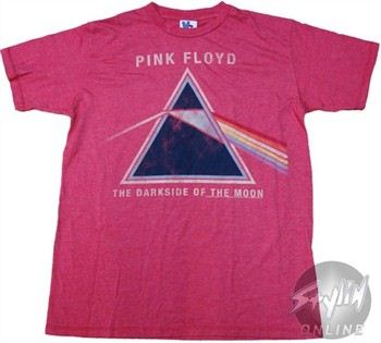 Pink Floyd The Dark Side of the Moon Prism T-Shirt Sheer by JUNK FOOD