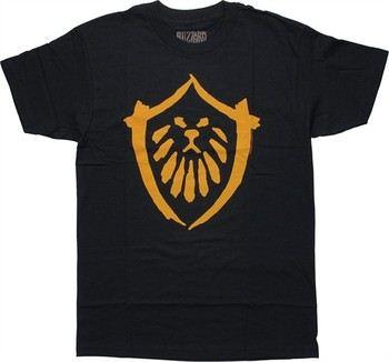World of Warcraft Mists of Pandaria Alliance Logo T-Shirt