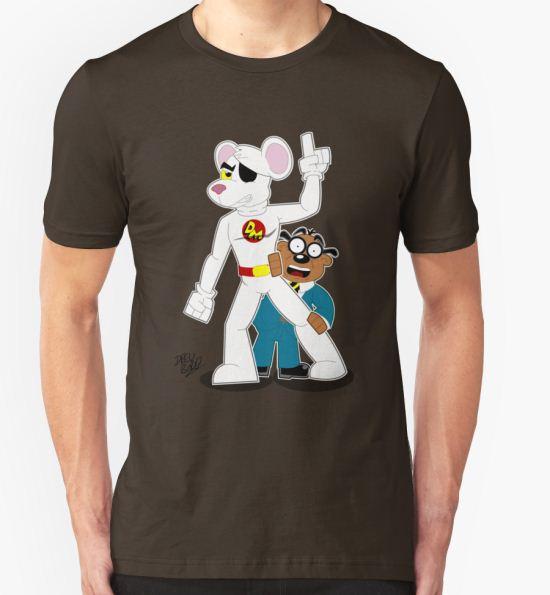 Danger Mouse T-Shirt by DrewBird T-Shirt