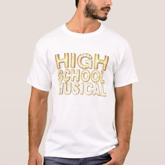High School Musical Logo Disney T-Shirt
